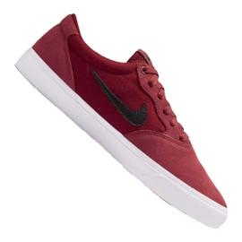 Buty Nike Sb Chron Solarsoft M CD6278-602 czerwone