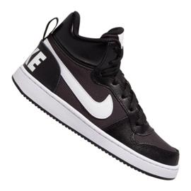 Czarne Buty Nike Court Borough Mid Pe (GS) Jr BV1607-001