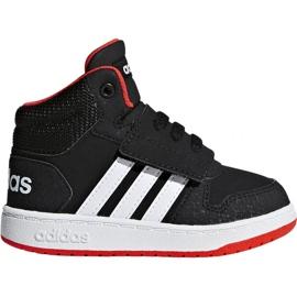 Czarne Buty adidas Hoops Mid 2.0 I Jr B75945