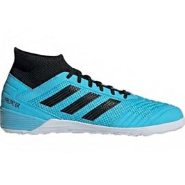 Buty halowe adidas Predator 19.3 In M F35615 niebieskie niebieski
