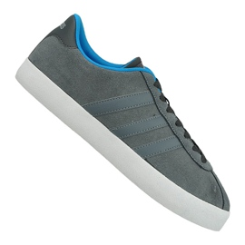Szare Buty adidas Vl Court Vulc M AW3927