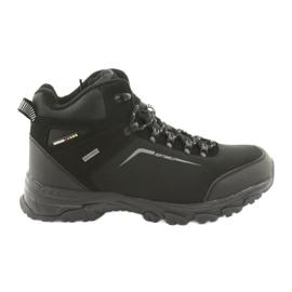 American Club czarne American trekkingi buty zimowe z membraną