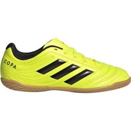 Buty halowe adidas Copa 19.4 In Jr F35451 żółty żółte