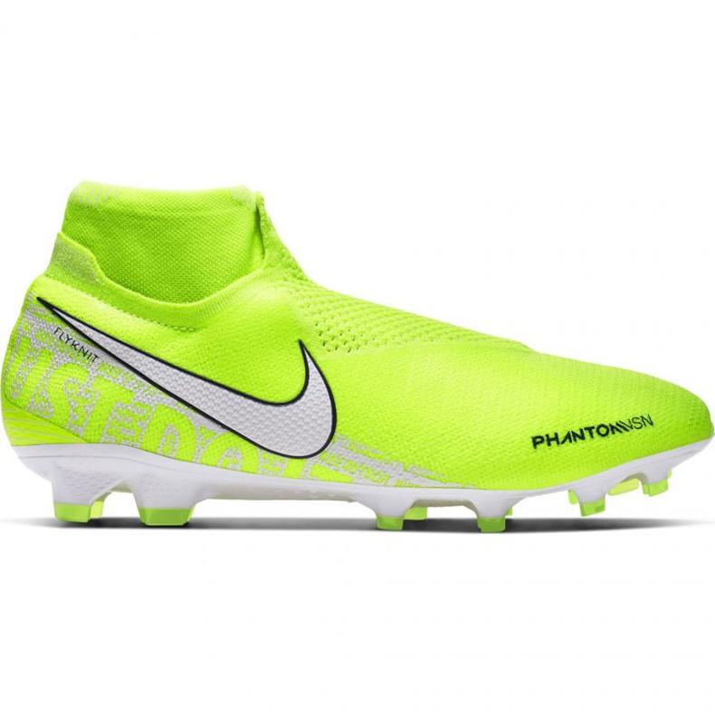 Buty piłkarskie Nike Phantom Vsn Elite Df Fg M AO3262-717 żółte żółte