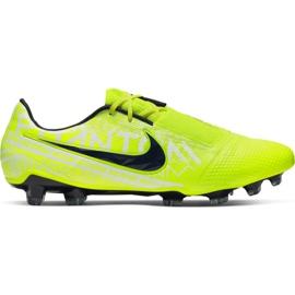 Buty piłkarskie Nike Phantom Venom Elite Fg M AO7540-717 żółte wielokolorowe