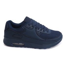 Granatowe Sneakersy Adidasy X915 Granatowy B733