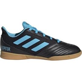 Buty halowe adidas Predator 19.4 In Sala Jr G25830 czarne czarny