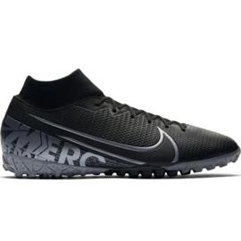 Buty piłkarskie Nike Mercurial Superfly 7 Academy Tf M AT7978-001 czarne czarny