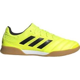 Buty halowe adidas Copa 19.3 In Sala M F35503 żółty żółte