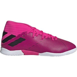 Buty halowe adidas Nemeziz 19.3 In Jr F99946 różowe różowy