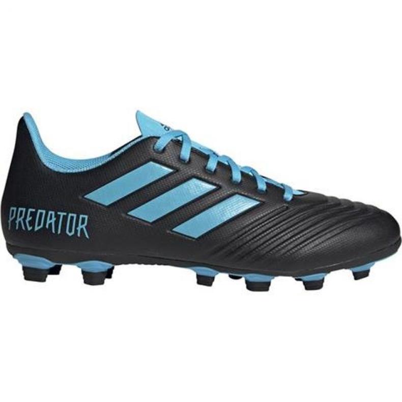 Buty piłkarskie adidas Predator 19.4 FxG M F35598 czarne czarne