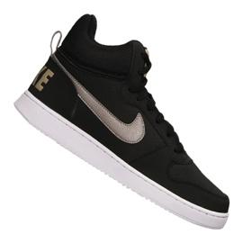 Czarne Buty Nike Court Borough Mid M 838938-005