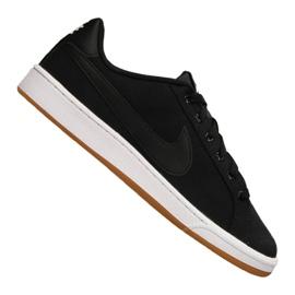 Czarne Buty Nike Court Royale Canvas M AA2156-001