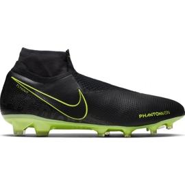 Buty piłkarskie Nike Phantom Vsn Elite Df Fg M AO3262-007 czarne czarne