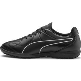 Buty piłkarskie Puma King Hero Tt M 105672 01 czarne czarny