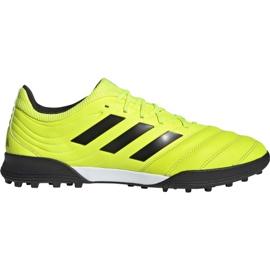 Buty piłkarskie adidas Copa 19.3 Tf M F35507 żółty żółte