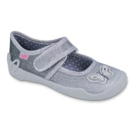 Befado obuwie dziecięce 123X034 szare