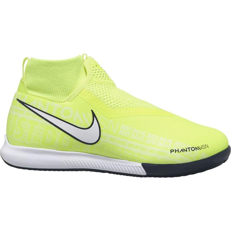 Buty halowe Nike Phantom Vsn Academy Df Ic Jr AO3290-717 żółty żółte