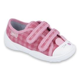 Befado obuwie dziecięce  907P109 różowe