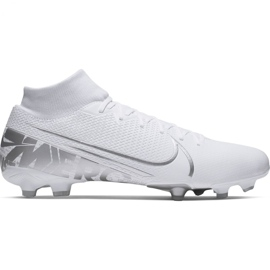 Buty piłkarskie Nike Mercurial Superfly 7 Academy FG/MG M AT7946-100 biały białe