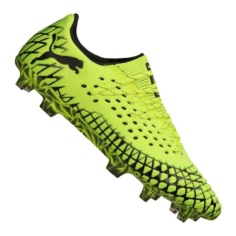 Buty do piłki nożnej Puma Future 4.1 Netfit Low Fg / Ag M 105730-02 żółte żółte
