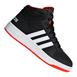 Czarne Buty adidas Hoops Mid 2.0 K Jr B75743
