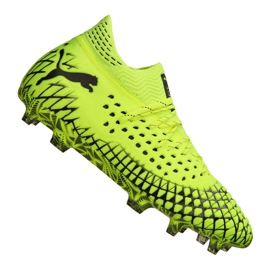 Buty do piłki nożnej Puma Future 4.1 Netfit Fg / Ag M 105579-03 żółte żółty