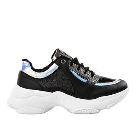 Czarne damskie obuwie sportowe W-3117