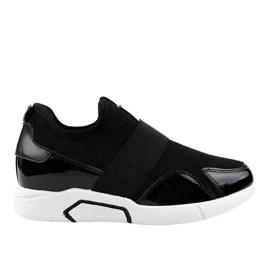 Czarne damskie obuwie sportowe X-9761