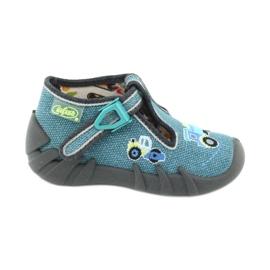 Befado obuwie dziecięce 110P355 niebieskie