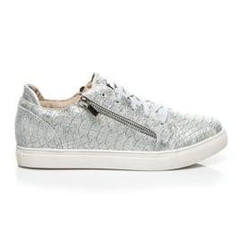 Vices szare Trampki Silver Fashion