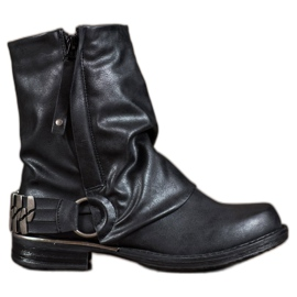 Seastar czarne Biker Boots