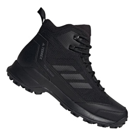 Buty zimowe adidas Terrex Heron Mid Cw Cp M AC7841 czarne