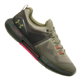 Zielone Buty Under Armour Hovr Rise M 3022025-301