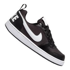 Buty Nike Court Borough Low Pe (GS) Jr BQ7566-002 czarne czarne