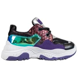 SHELOVET Wielokolorowe Sneakersy
