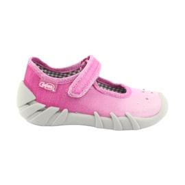 Befado obuwie dziecięce 109P195 różowe