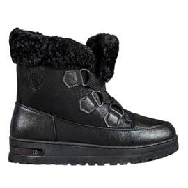 Ciepłe Śniegowce MCKEYLOR czarne