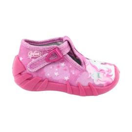 Befado obuwie dziecięce 110P364 różowe