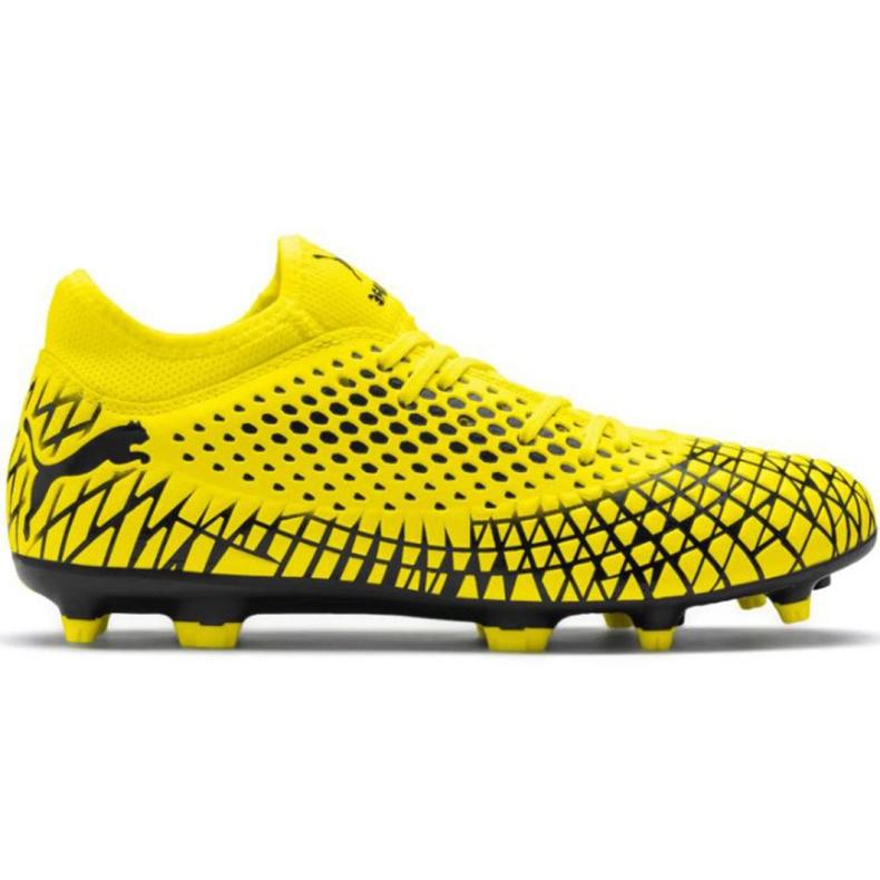 Buty piłkarskie Puma Future 4.4 Fg Ag M 105613 03 żółte żółte
