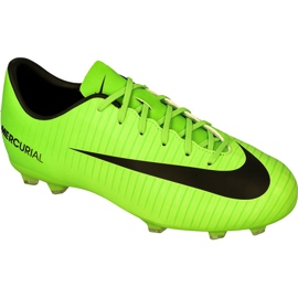 Buty piłkarskie Nike Mercurial Victory Vi Fg Jr 831945-303 zielone zielony