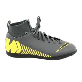 Buty halowe Nike Mercurial Superfly X 6 Club Ic Jr AH7346-070 szare