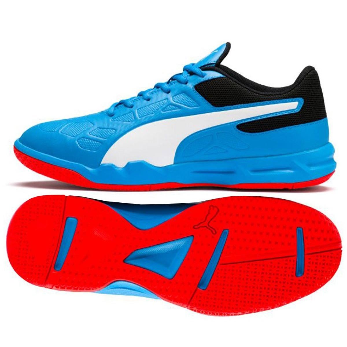 Buty halowe Puma Tenaz Bleu M 104889 06 niebieskie niebieski