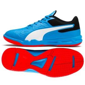 Buty halowe Puma Tenaz Bleu M 104889 06 niebieski niebieskie