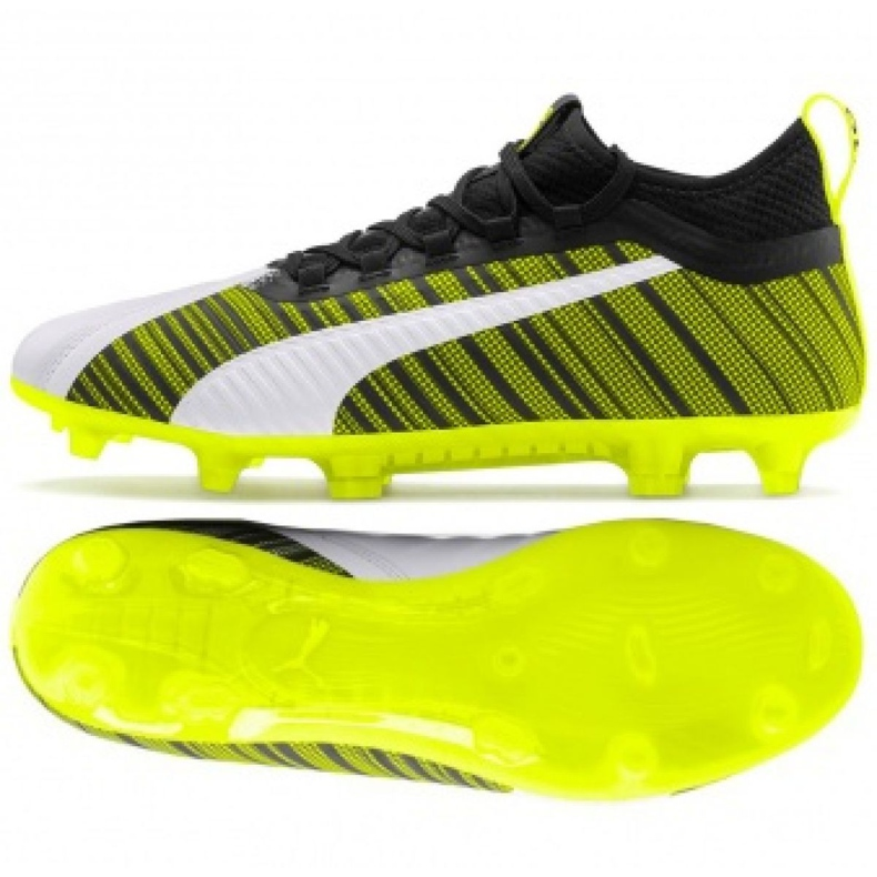 Buty piłkarskie Puma One 5.2 FG/AG M 105618 03 żółty żółte
