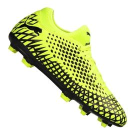 Buty piłkarskie Puma Future 4.4 Fg / Ag Jr 105696-03 żółte żółty