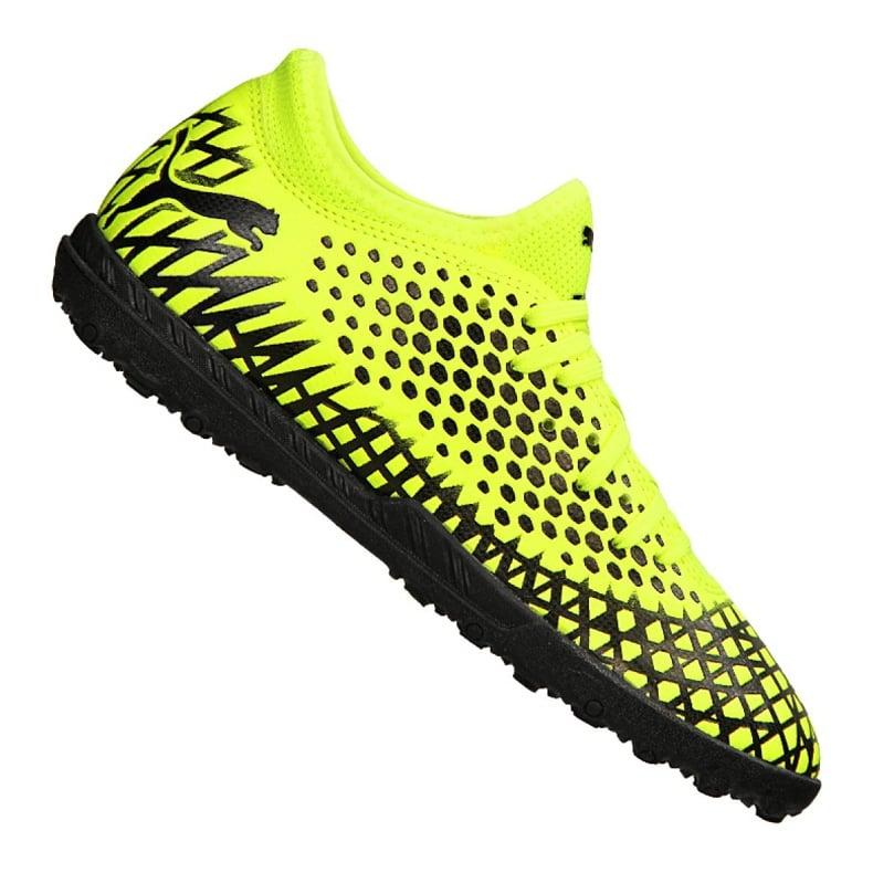 Buty piłkarskie Puma Future 4.4 Tt Jr 105699-03 żółte żółty