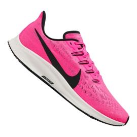Buty do biegania Nike Air Zoom Pegasus M AQ2203-601 różowe