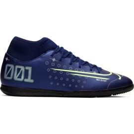 Buty halowe Nike Mercurial Superfly 7 Club Mds Ic M BQ5462-401 granatowy niebieskie