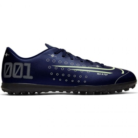 Buty piłkarskie Nike Mercurial Vapor 13 Club Mds Tf M CJ1305-401 granatowy granatowe